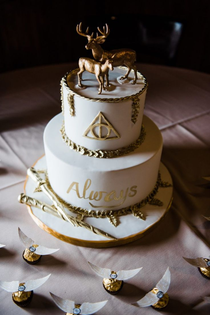 Celebrate Harry's birthday today with a most magical Harry Potter bridal shower