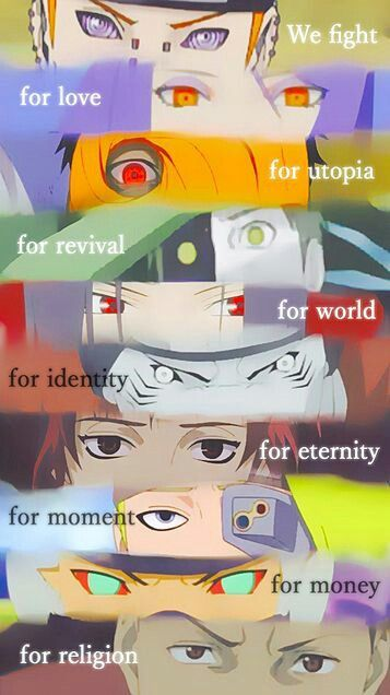 AKATSUKI - they describe our world very easily #naruto