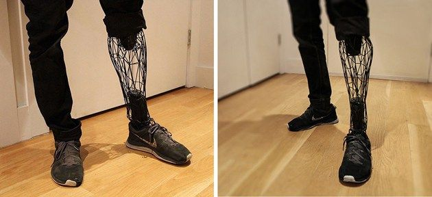 William Root, an industrial designer by profession, decided to make use of prosthetics to make something highly creative and futuristic that looks out of