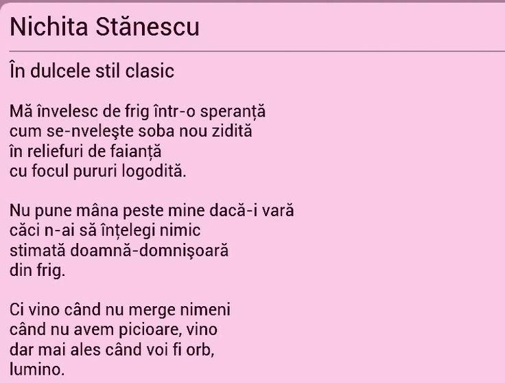 Nichita Stanescu