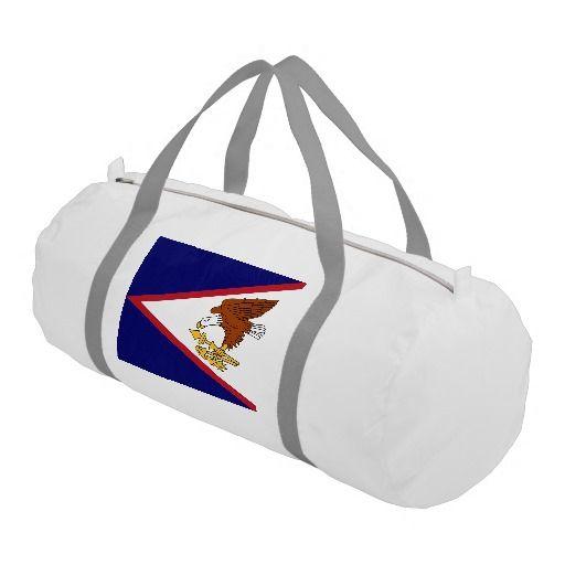 American Samoa Island duffel bag