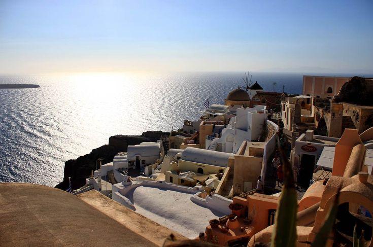 Oia sur l''île de Santorin, Grèce #greece #santorini