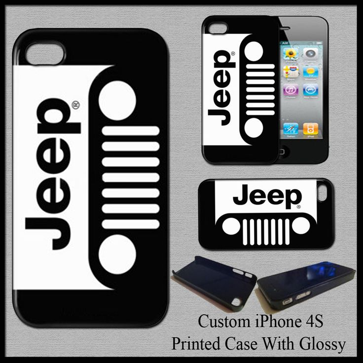 New Hot Jeep Wrangler Automotive Advanture Hard Case For iPhone 4S Fit For Gift