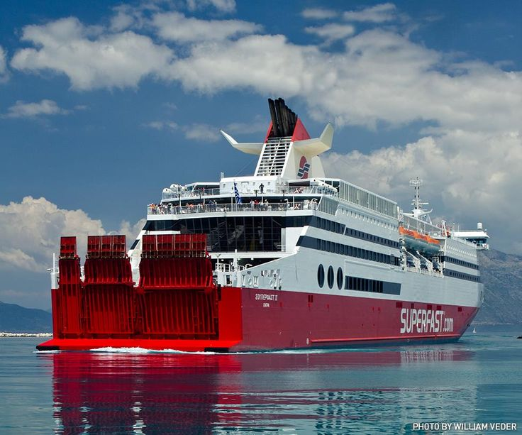 Superfast Ferries is on cloud nine.