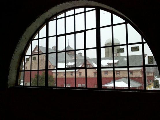 (mars 2013) Vue à partir de l'espace des événements spéciaux, situé au deuxième étage.