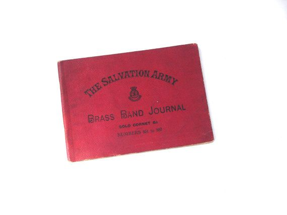 1920s The Salvation Army Brass Band Journal Solo by FillyGumbo