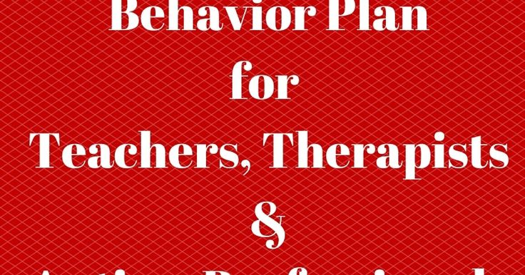 Behavior Plan for Autism Professionals - Lei Wiley-Mydske