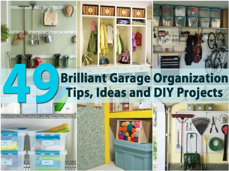 7 best images about garage on pinterest garage organization tips paint and how to organize - Organizing small spaces cheap paint ...