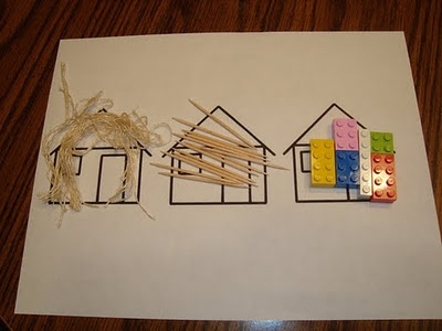 The Three Little Pigs Activity and other cool activities for Fairy Tales