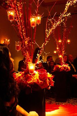 All Hallows Design: Halloween Wedding - Reception Inspiration
