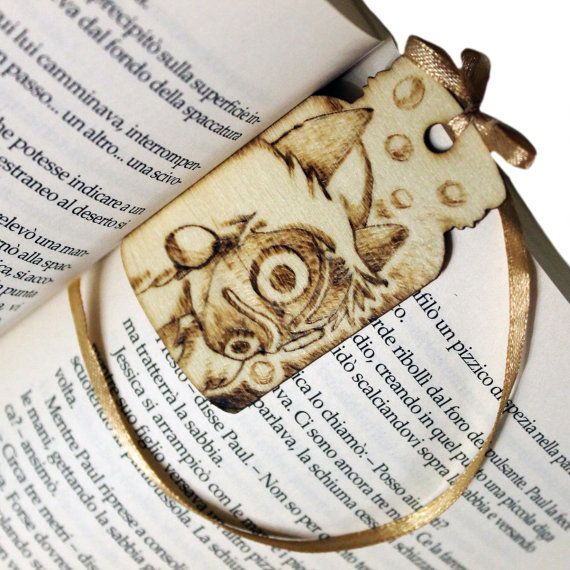 wooden bookmark inspired to Ghibli by ChibiPyroFable on Etsy    #chibipyro #artisan #craft #shop #leather #wood #woodburning #fire #fan #art #artisan #craft #handmade #etsy #shop #pyro #pyrography #burn #burning #fire #drawing #woodburner #cork #recycled #purse #comb #hairbrush #note #book #sketch #tobacco #pouch #bookmark #pochette #box #pencil #case