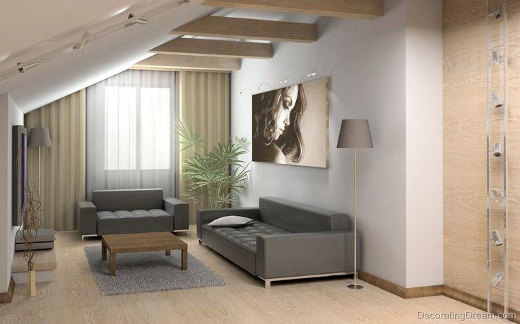 Eğer çatı katınızda ufak bile olsa bir odanız varsa güzel dekore edildiğinde evinizin favori odalarından biri olacaktır. Özellikle dinlenme alanı olarak çatı katları her zaman en güzel