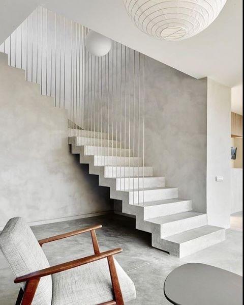 Las 25 mejores ideas sobre escaleras de concreto en for Tipos de escaleras arquitectura