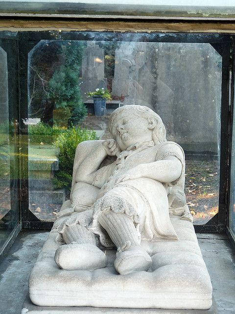 Child's grave family de Block, official monument