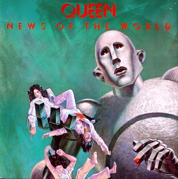 Queen - News Of The World (Vinyl, LP, Album) at Discogs  1977/gatefold