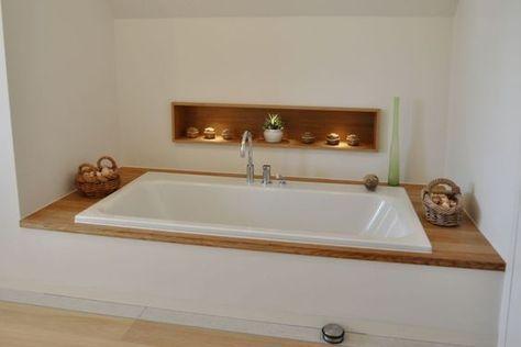 Badbereich Dusche / Wanne