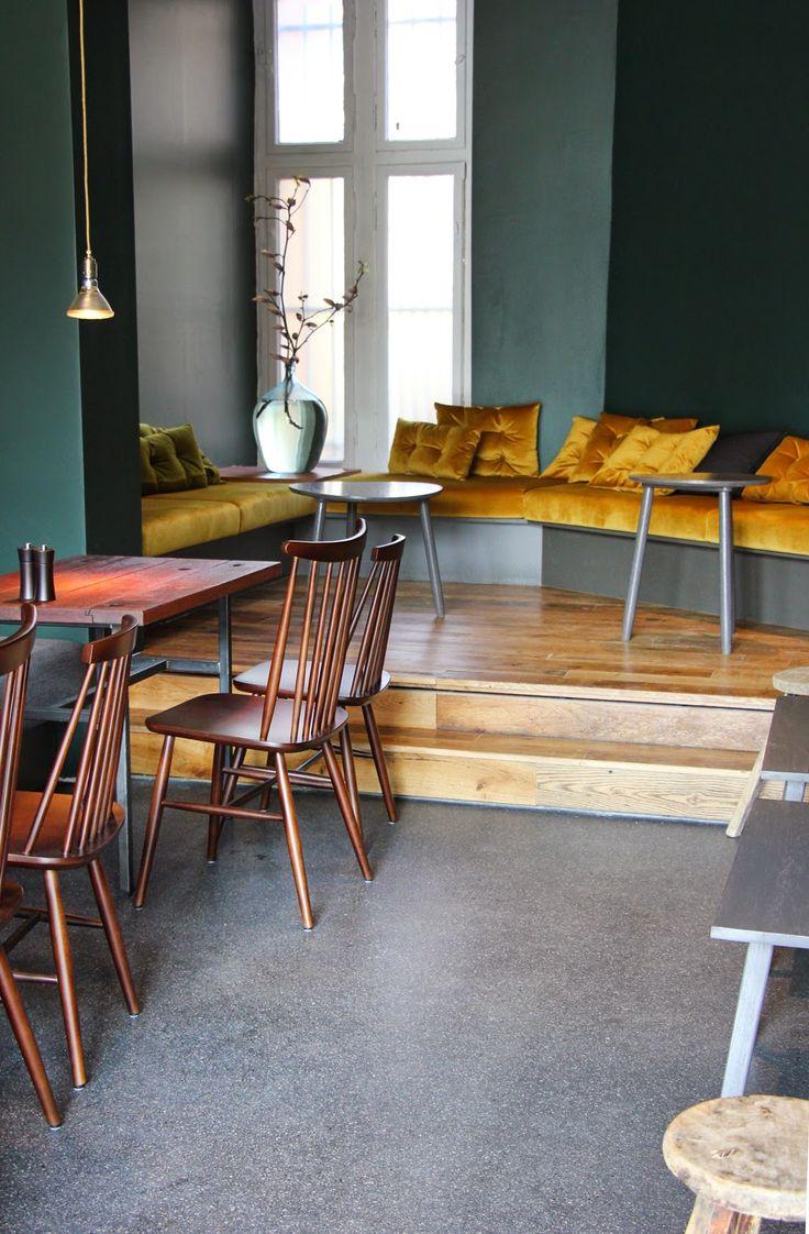159 best caf restaurant interiors images on pinterest restaurant interiors berlin blog. Black Bedroom Furniture Sets. Home Design Ideas