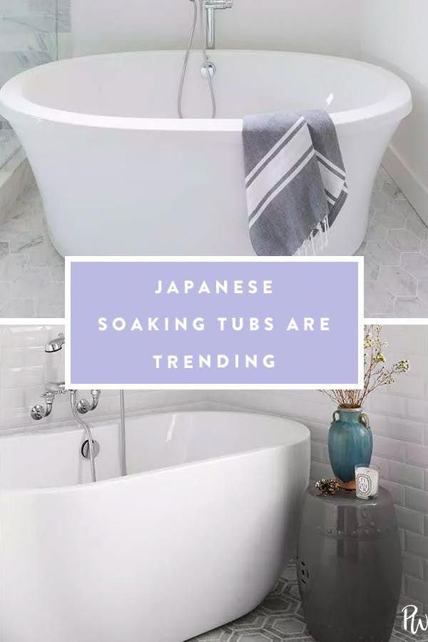 Japanese Soaking Tubs Are the Self-Care Trend Your Bathroom Needs