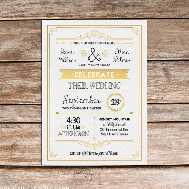 wedding invitations from michaels crafts%0A Printable DIY Wedding Invitation Template