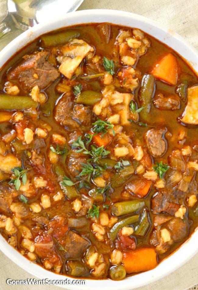 Beef Barley Soup Recipe Beef Soup Recipes Beef Barley Soup Recipes Beef Barley Soup