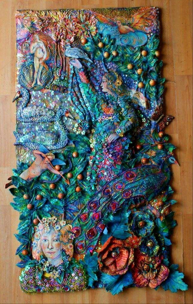 Nikki parmenter artworks | Artsy Craftsy | Textile art ...