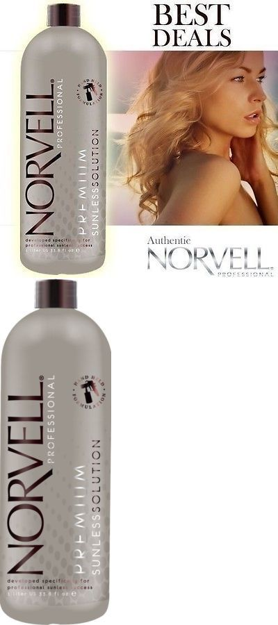 Sunless Tanning Products: Norvell Dark Premium Spray Tanning Solution Sunless Airbrush 34Oz Liter BUY IT NOW ONLY: $37.94