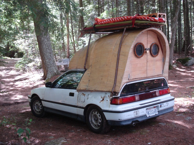 From the crazy concept to the quirk reality, laid back tree house designer and surfing mogul Jay Nelson is renowned in Los Angeles for his unusual forms of transport. His first creation was born on the back of an old Honda CRX.