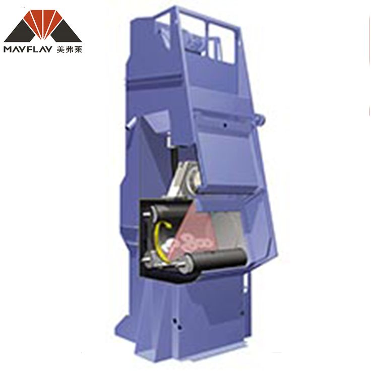 Competitive Price Bulk Materials Track Sand Blasting Machine
