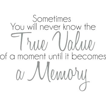 The true value of a moment
