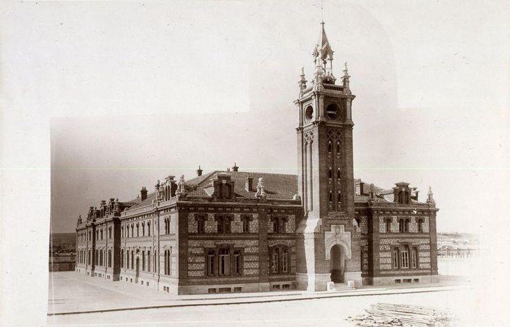 Matadero Municipal, 1928. Autor desconocido. Museo de Historia (Madrid)