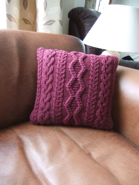 Cable knit cushion...GOT