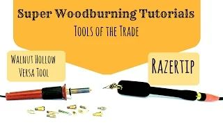 Pyrography tools - YouTube