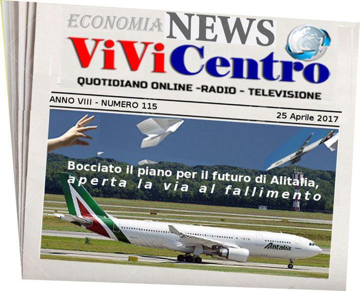 Bocciato il piano per il futuro di Alitalia, aperta la via al fallimento