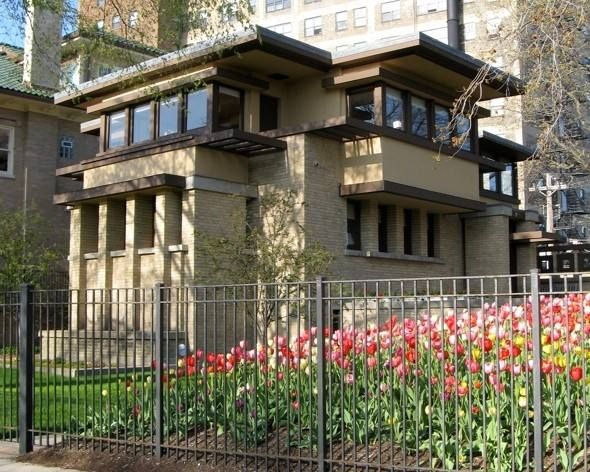 Frank Lloyd Wright Prairie Houses 23 best flw - furbeck, george, house images on pinterest | frank