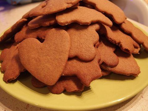 Ciasteczka korzenne na zimowy wieczór...