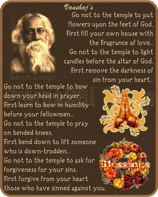 Rabindranath Tagore Poems in English | articles from our library related to the Rabindranath Tagore Poetry ...