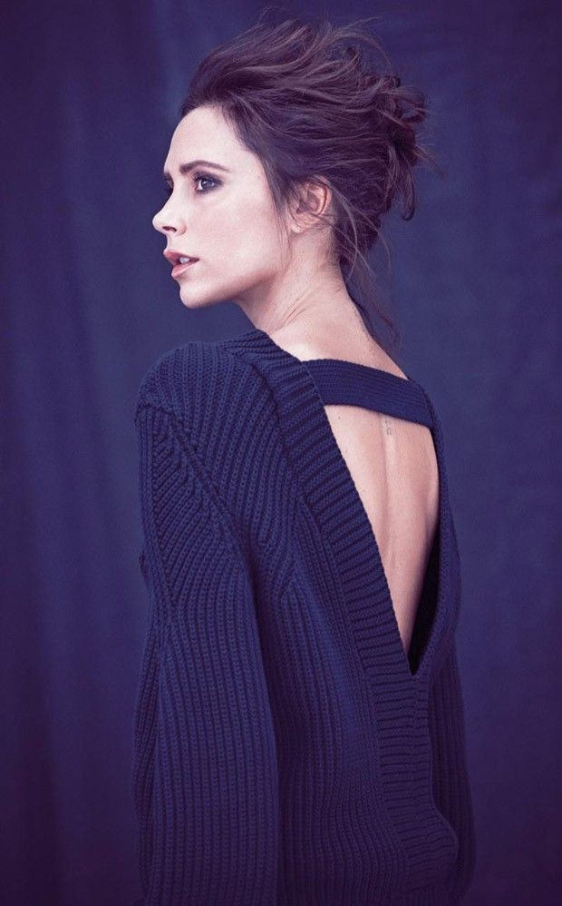Victoria Beckham for Telegraph UK November 2015 by Matthew Brookes