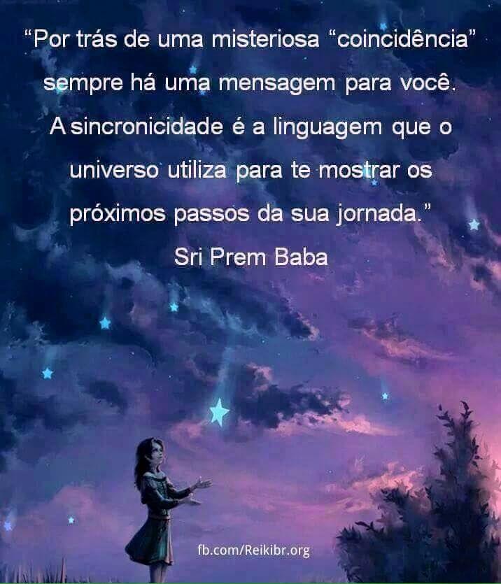 #coincidências #sincronicidade