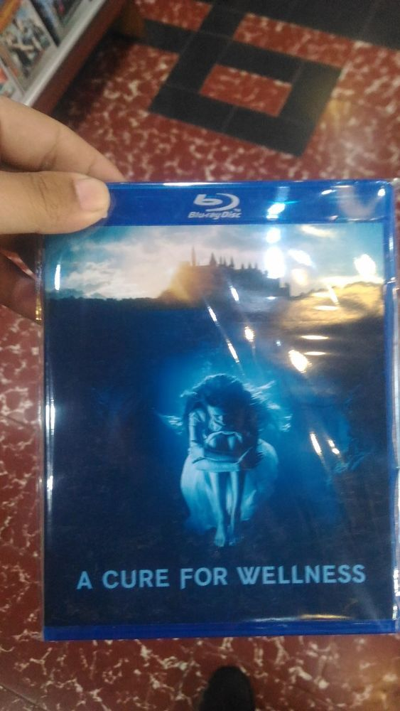 A Cure For Wellness Blu-Ray HD Picture Free Shipping