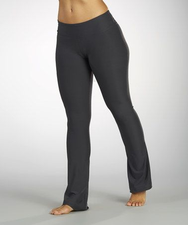 Another great find on #zulily! Carbon Flat-Waist Yoga Pants #zulilyfinds