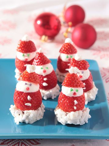 I Santa Claus tutta fragola