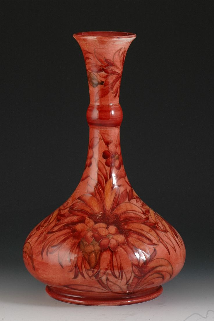 221 best moorcroft pottery images on pinterest ceramic art moorcroft flambe cornflower lampbase c1936 a rare and superbly fired decorated lampbase in reviewsmspy