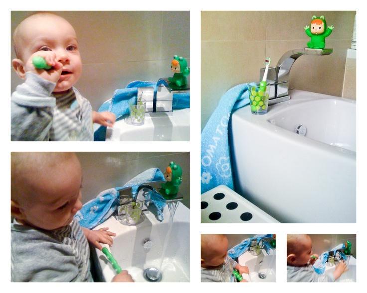 Uno spazio tutto mio per lavare i dentini!