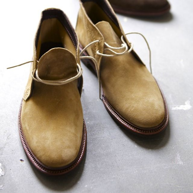 Tan Suede Chukka Boot by Alden