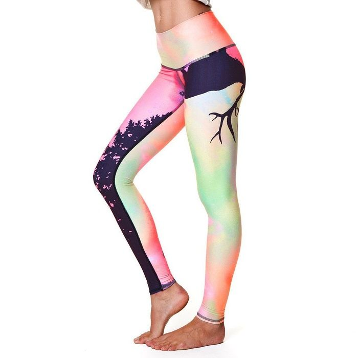 Teeki Northern Lights Yoga Hot Pant #rankandstyle