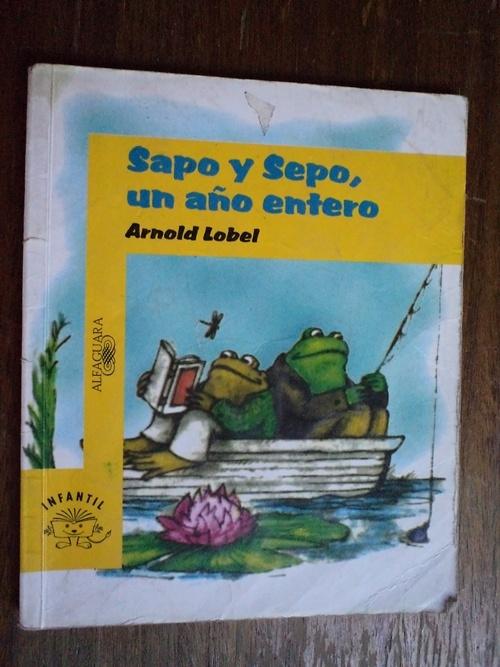 Sapo y Sepo, un año entero - Arnold Lobel