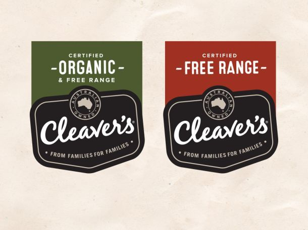 "Cleaver's beefs up branding to clear ""organic"" confusion"