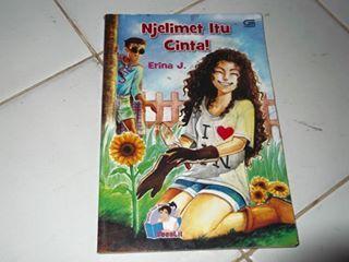SYIREN BOOKS: TEENLIT : NJELIMET ITU CINTA! by ERINA J