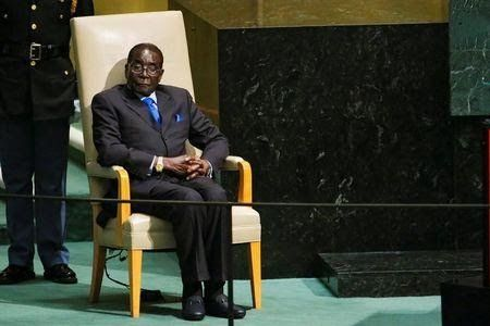 """Zimbabwe's former president Robert Mugabe cried and lamented """"betrayal by his lieutenants"""" when he agreed to step down last week under pressure from the military and his party after 37 years in power the Standard newspaper said in its Sunday edition.  President Emmerson Mnangagwa a former Mugabe loyalist was sworn in on Friday and attention is focused on whether he will name a broad-based government or select figures from Mugabe's era.  The newspaper quoted sources within Mugabe's inner…"""