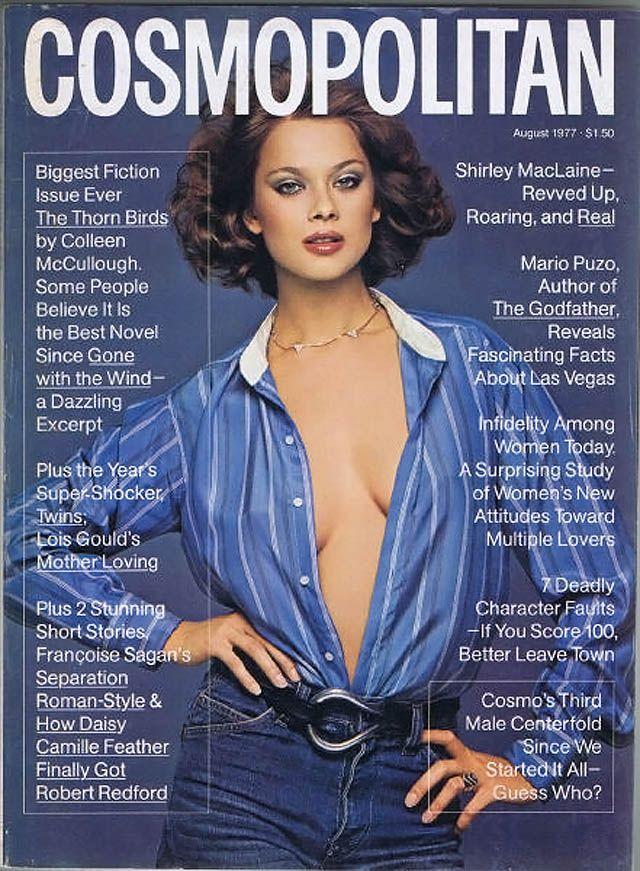 Cosmopolitan magazine, AUGUST 1977 Model: Lena Kansbod Photographer: Francesco Scavullo